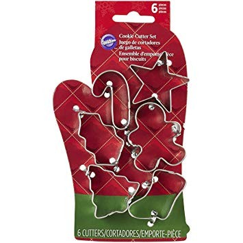 WILTON MINI COOKIE CUTTER SET WEIHNACHTEN 6 teilig