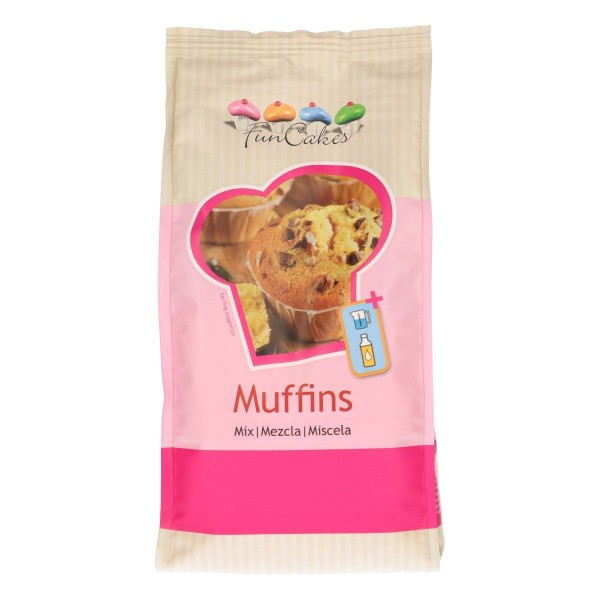 FunCakes Mix für Muffins 1kg
