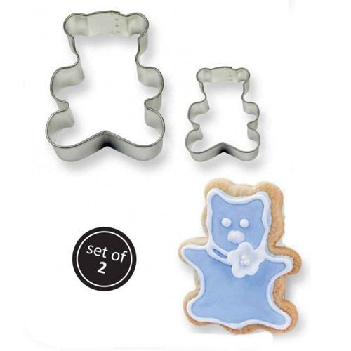 PME COOKIE CUTTER TEDDY SET/2