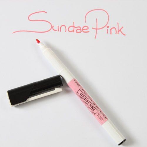 Sugarflair Sugar Art Pen Sundae Pink/Rosa