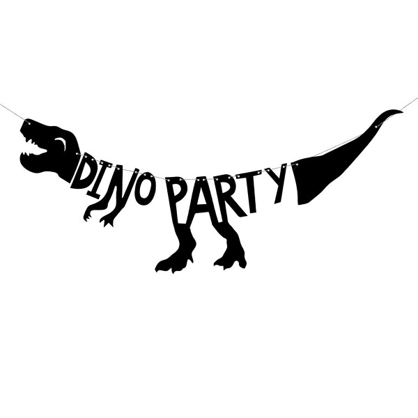 PARTYDECO BANNER DINOSAURIER