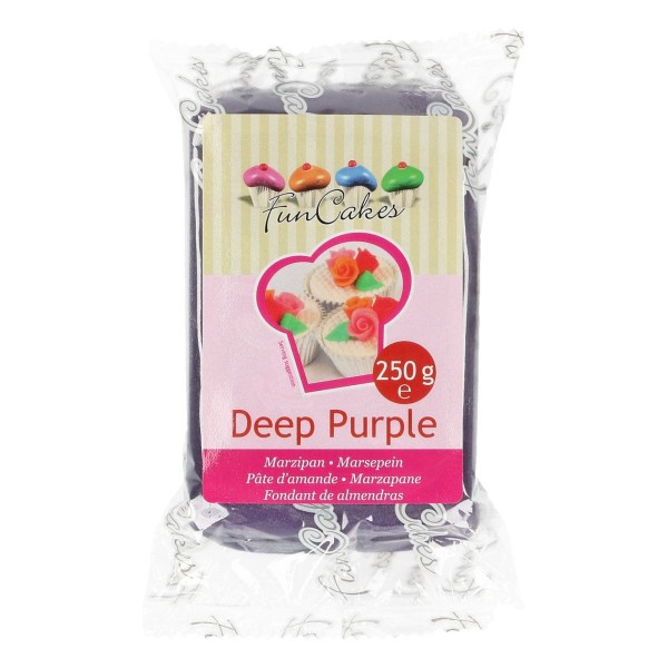 FunCakes Marzipan Deep Purple