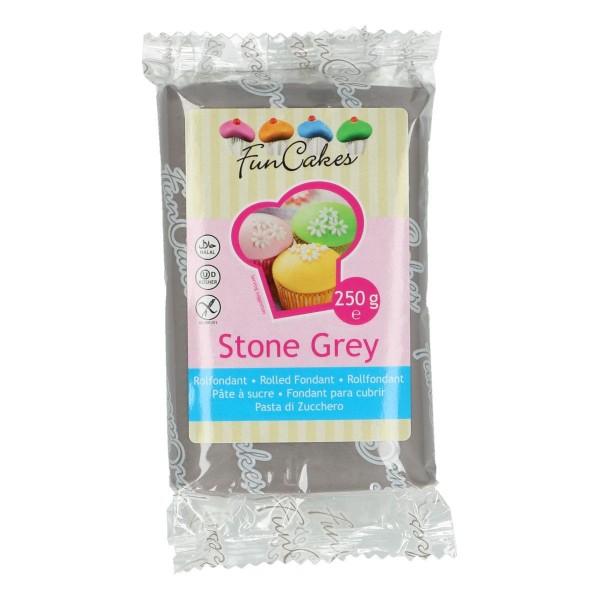 FunCakes Fondant Stone Grey