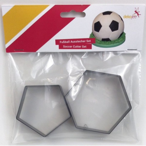 DEKOFEE FUSSBALL CUTTER SET /2