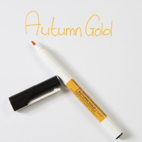 Sugarflair Sugar Art Pen Autumn Gold