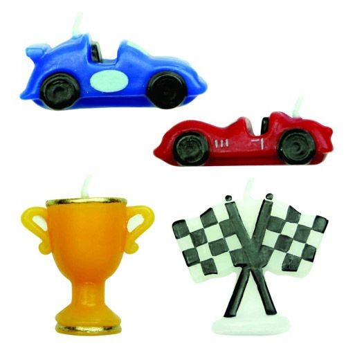 PME KERZEN RACING CARS SET/4