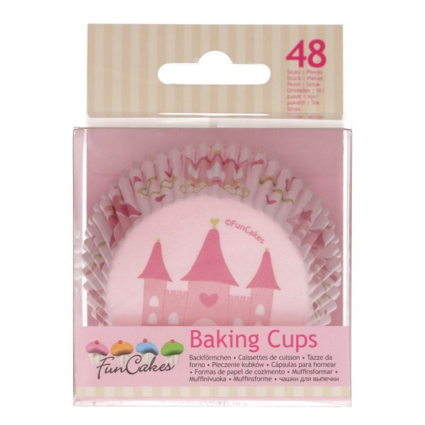 FUNCAKES BAKING CUPS -PRINZESSIN- PK/48
