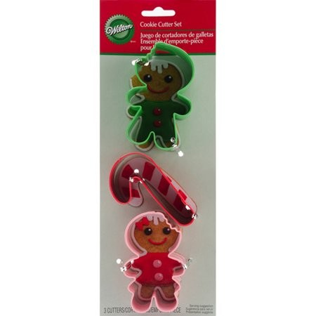 """WILTON COOKIE CUTTER SET """"FROSTED FUN"""" SET/3"""