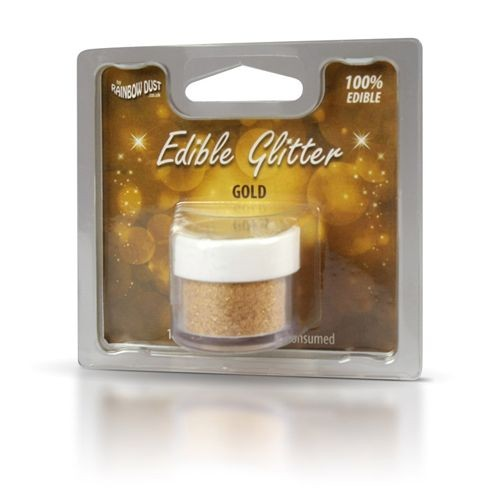 Rainbow Dust Essbares Glitzer Gold
