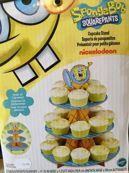 Wilton Cupcake Stand Spongebob